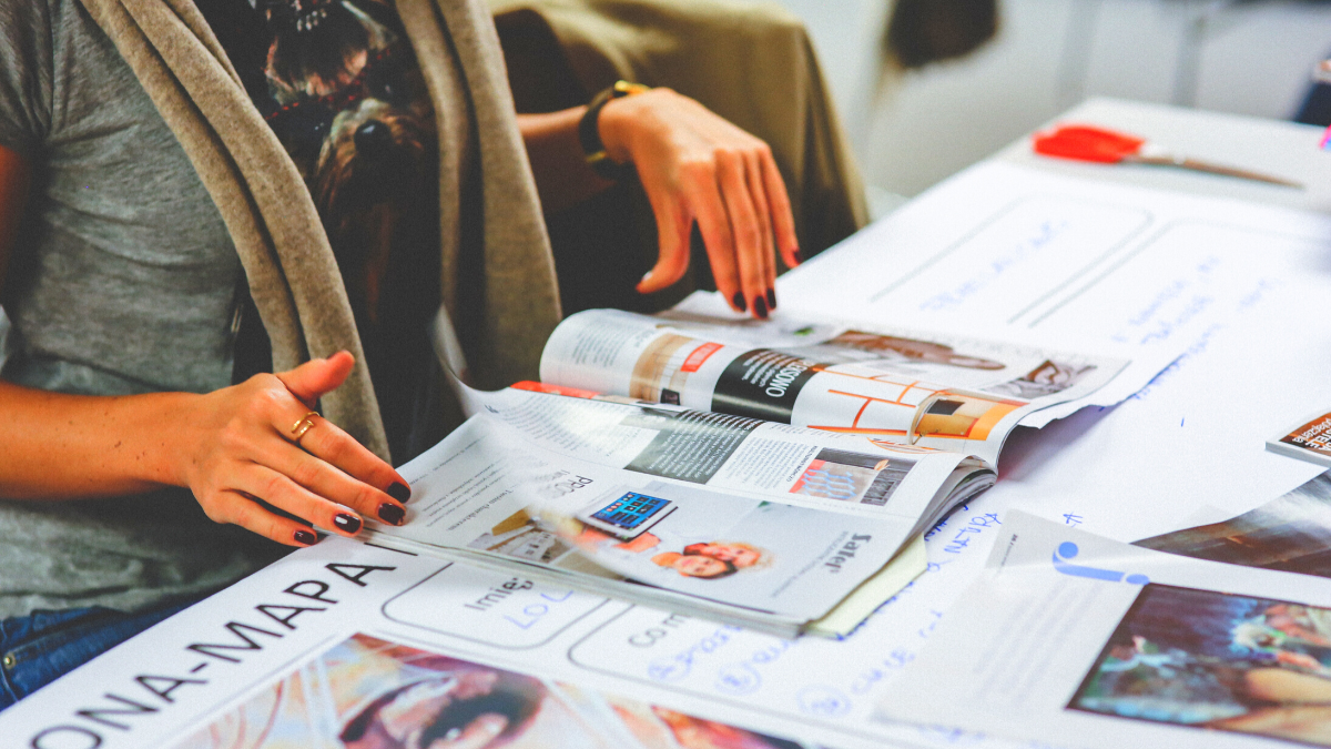 Words That Fly Off The Page The New Relationship Between Print and Visual Media