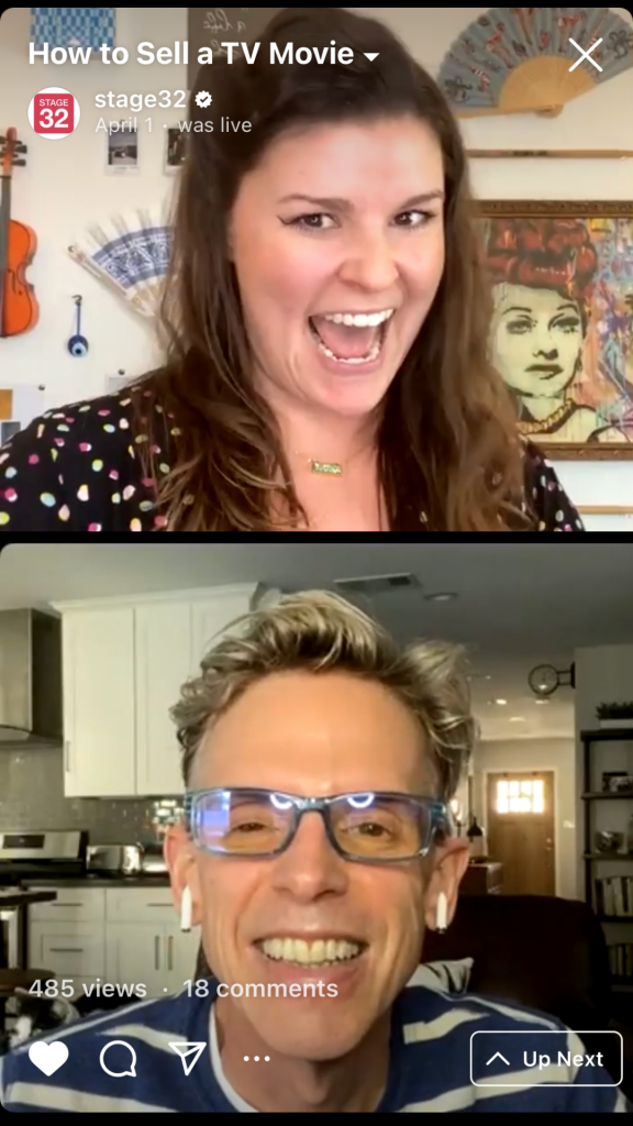 Instagram Live Series How to Sell a TV Movie  How to Turn a Pass into a Positive Experience